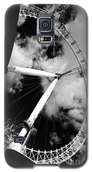 London Ferris Wheel Bw Galaxy S5 Case
