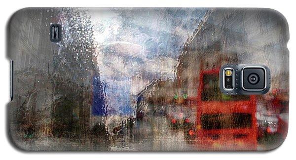 London In Rain Galaxy S5 Case