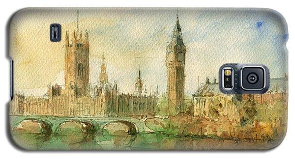 London Parliament Galaxy S5 Case by Juan  Bosco