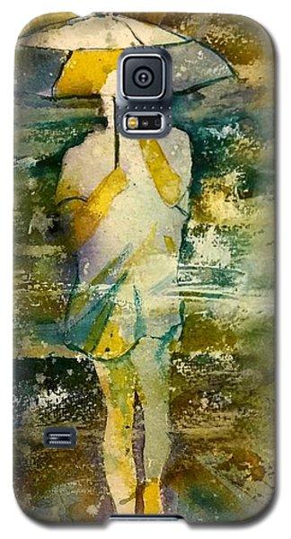 London Rain Theme Galaxy S5 Case