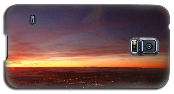 Galaxy S5 Case featuring the photograph London Sunset by AmaS Art