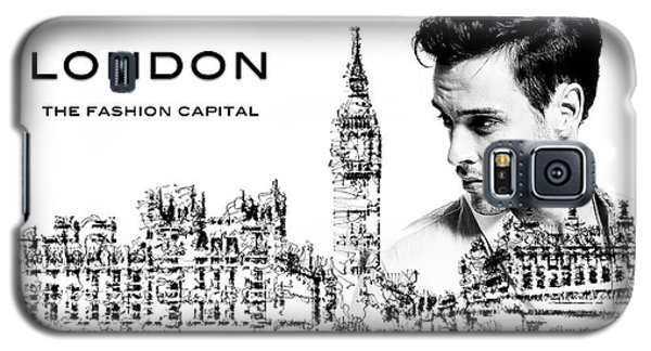 Galaxy S5 Case featuring the digital art London The Fashion Capital by ISAW Company