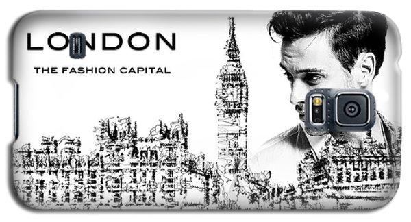 London The Fashion Capital Galaxy S5 Case