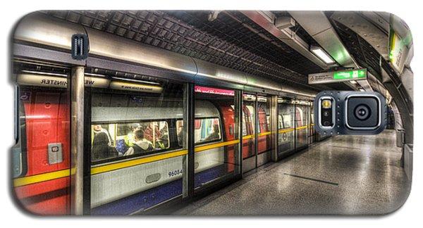 London Underground Galaxy S5 Case by David Pyatt