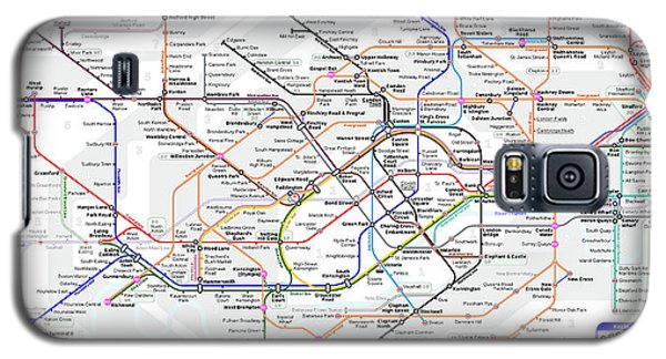 London Underground Map Galaxy S5 Case