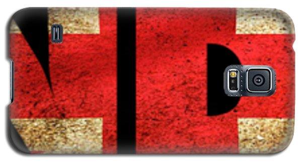 London Vintage British Flag Tee Galaxy S5 Case