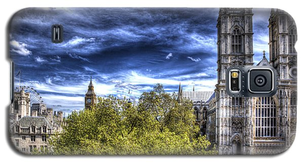 London Westminster Abbey Surreal Galaxy S5 Case