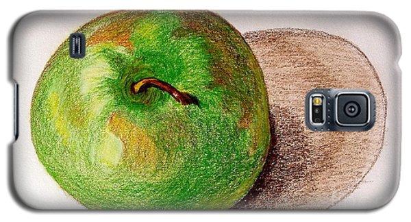 Lone Apple Galaxy S5 Case by Sheron Petrie