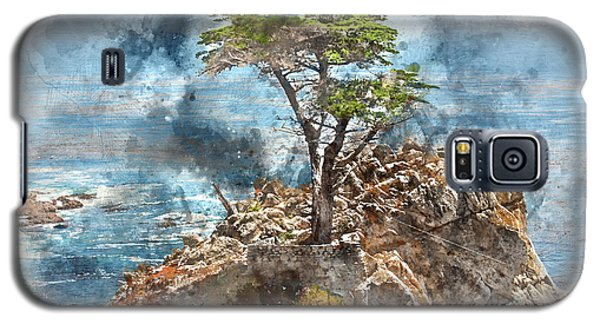 Lone Cypress In Monterey California Galaxy S5 Case