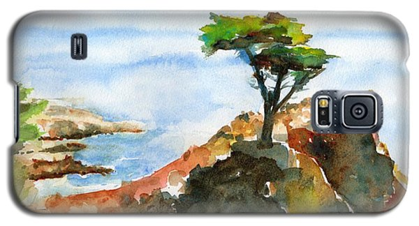 Lone Cypress Pebble Beach Fog Galaxy S5 Case