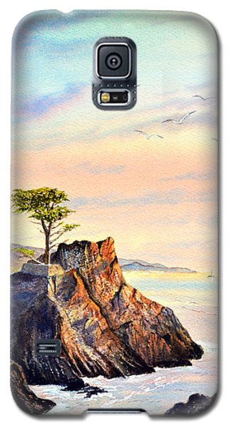 Lone Cypress Tree Pebble Beach Galaxy S5 Case