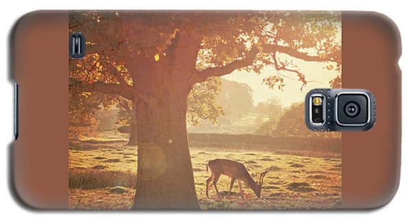 Galaxy S5 Case featuring the photograph Lone Deer by Lyn Randle
