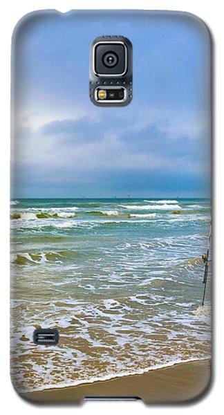 Lone Fishing Pole Galaxy S5 Case