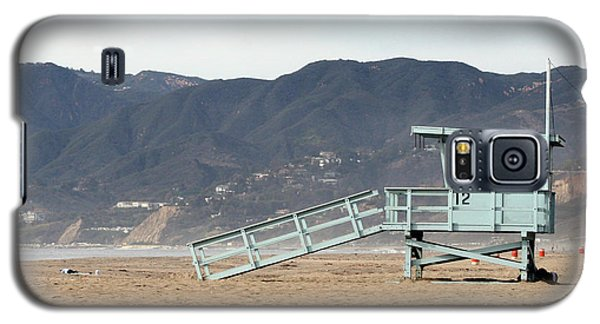 Lone Lifeguard Tower Galaxy S5 Case