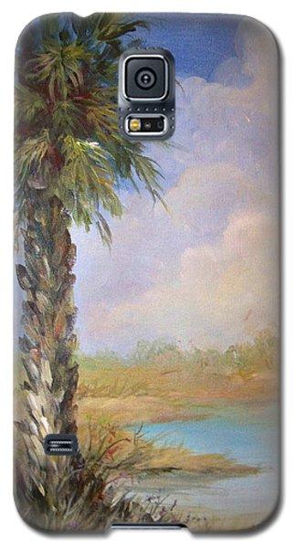 Lone Palm Galaxy S5 Case