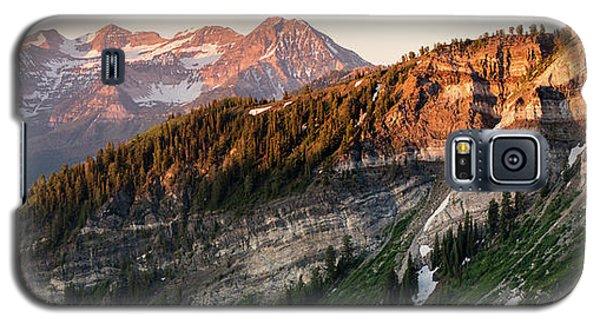Lone Peak Wilderness Panorama Galaxy S5 Case