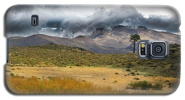 Galaxy S5 Case featuring the photograph Lone Pine High Desert Nevada by Frank Wilson