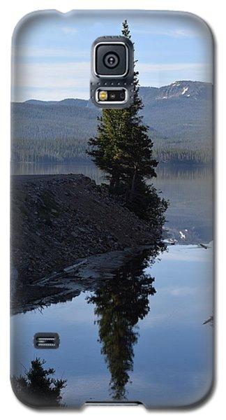 Lone Pine Reflection Chambers Lake Hwy 14 Co Galaxy S5 Case