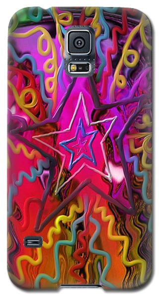 Galaxy S5 Case featuring the painting Lone Star by Kevin Caudill