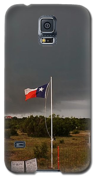 Lone Star Supercell Galaxy S5 Case by Ed Sweeney