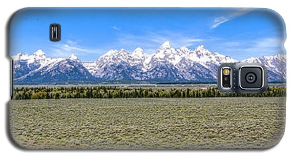 Lone Tree And The Tetons Galaxy S5 Case