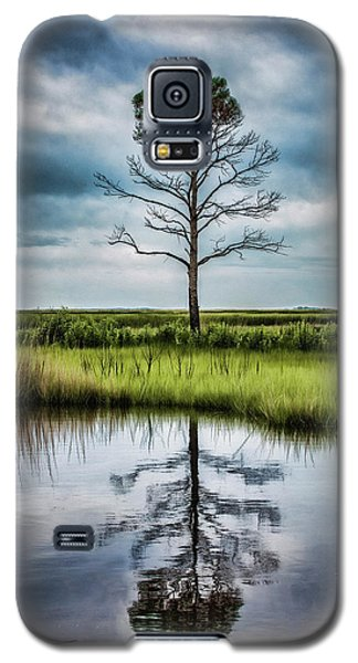 Lone Tree Reflected Galaxy S5 Case