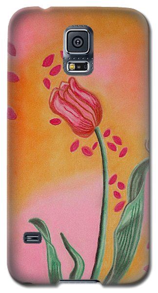 Lone Tulip Galaxy S5 Case