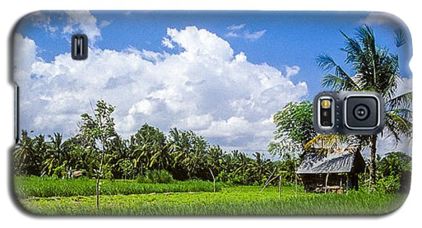 Lonely Rice Hut Galaxy S5 Case