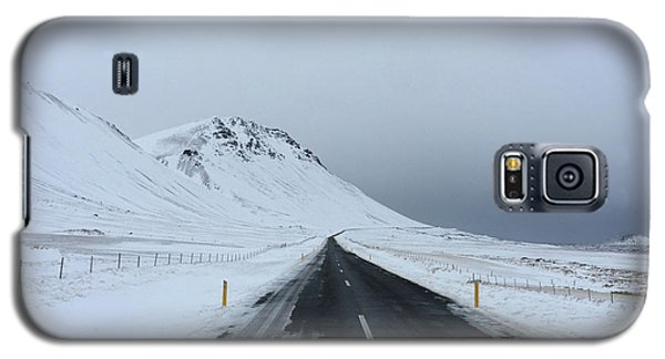 Lonely Road On Snaefellsnes Peninsula Galaxy S5 Case