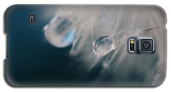 Galaxy S5 Case featuring the photograph Lonely Teardrops by Amy Tyler