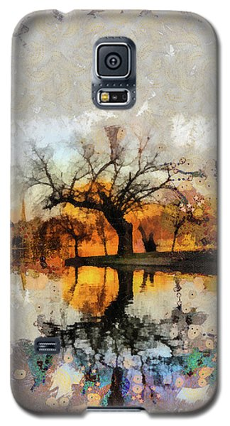 Lonely Tree And Its Thoughts Galaxy S5 Case