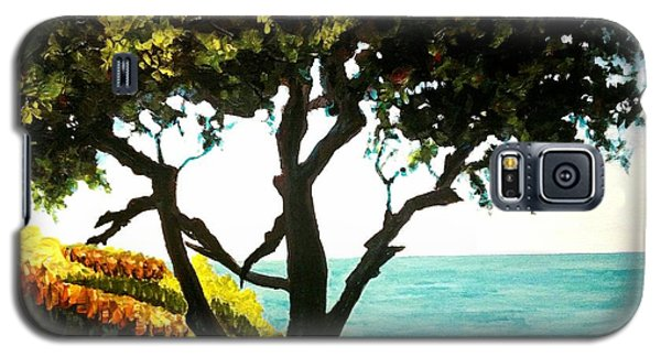 Lonely Tree By The Beach Galaxy S5 Case