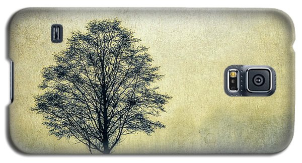 Galaxy S5 Case featuring the photograph Lonely Tree by Marion McCristall