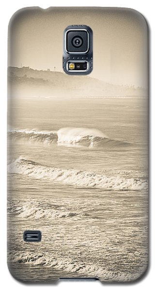 Lonely Winter Waves Galaxy S5 Case