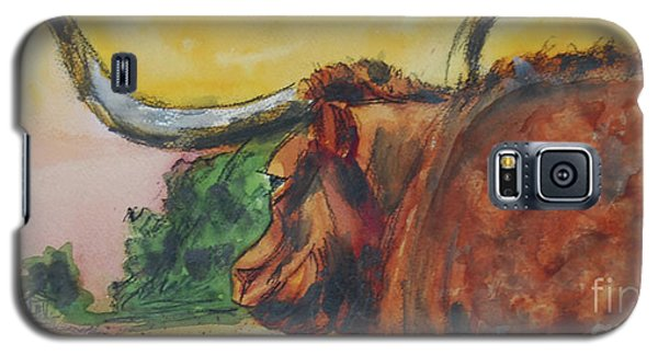 Lonesome Longhorn Galaxy S5 Case