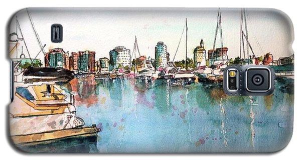 Long Beach Coastal View Galaxy S5 Case