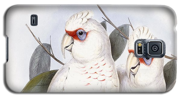 Long-billed Cockatoo Galaxy S5 Case by John Gould