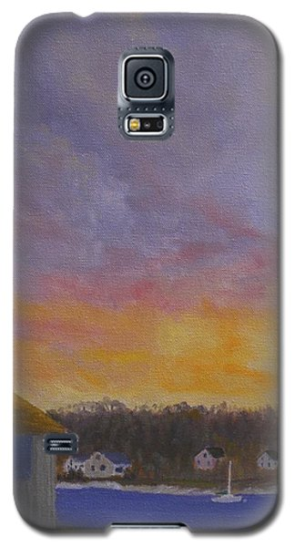 Long Cove Sunrise Galaxy S5 Case