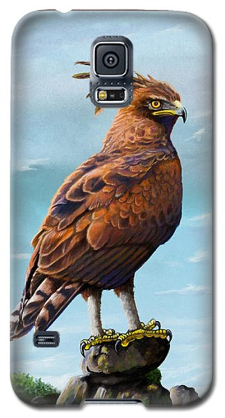 Long Crested Eagle Galaxy S5 Case by Anthony Mwangi