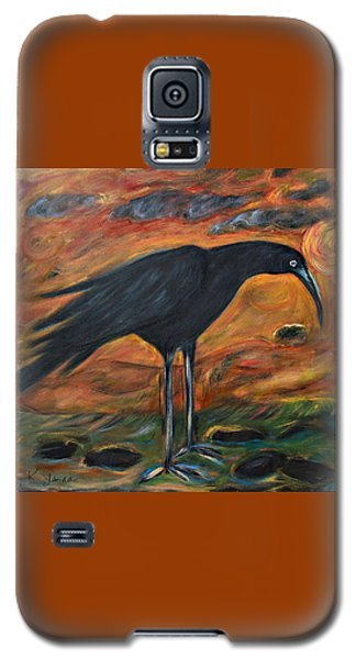 Long Legged Crow Galaxy S5 Case
