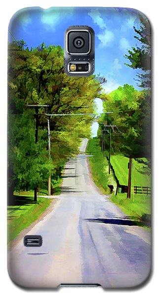 Long Road Ahead Galaxy S5 Case