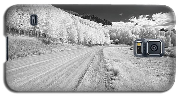 Galaxy S5 Case featuring the photograph Long Road In Colorado by Jon Glaser