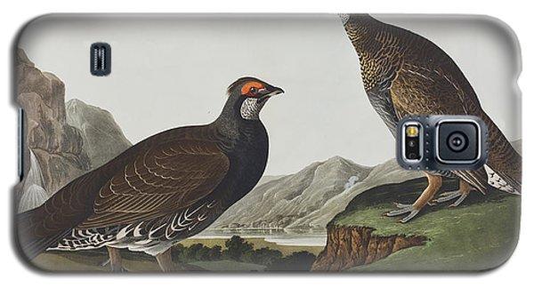 Long-tailed Or Dusky Grous Galaxy S5 Case by John James Audubon