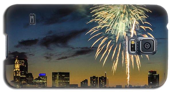 Long Warf Fireworks 1 Galaxy S5 Case by Mike Ste Marie