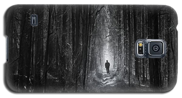 Galaxy S5 Case featuring the photograph Long Way Home by Bernd Hau