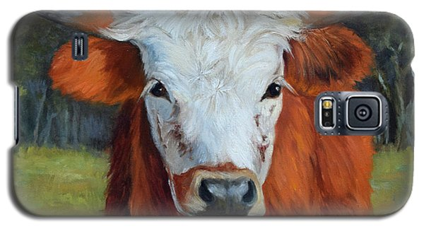 Longhorn Cow Painting II, Ms Tilly  Galaxy S5 Case