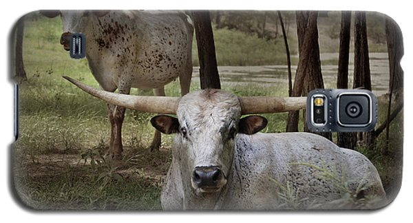 Longhorns On The Watch Galaxy S5 Case