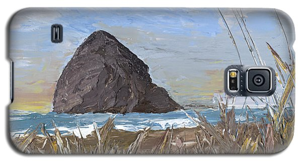 Longing For The Sounds Of Haystack Rock Galaxy S5 Case