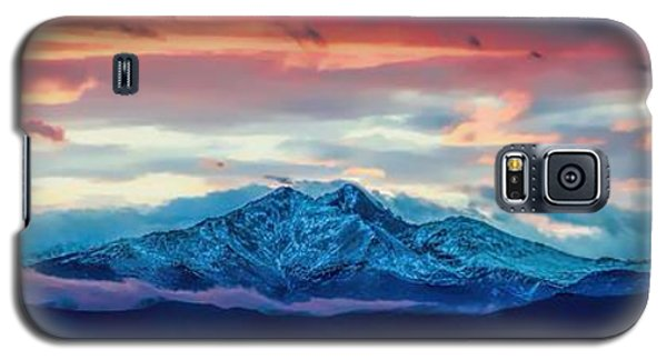 Longs Peak At Sunset Galaxy S5 Case