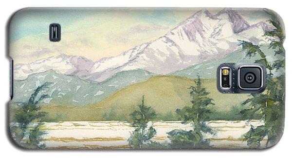 Long's Peak From Longmont Galaxy S5 Case